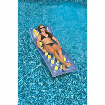 SwimLine Swimline 76 x 28 18 Pocket French Mat