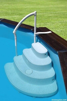 InnovaPlas Majestic Above Ground Pool Steps