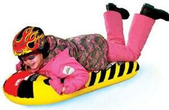 SportsStuff SPORTSSTUFF Snopedo Inflatable Snow Sport Ride On