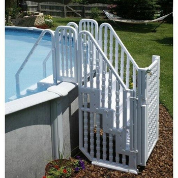 Blue Torrent Easy Pool Step Entry System