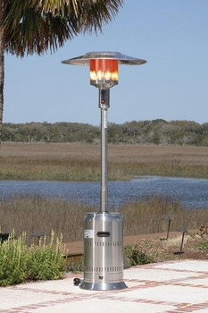 Well Traveled Living Stainless Steel Commercial Outdoor Heater
