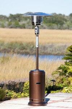 Well Traveled Living Garden Sun Patio Heater Hammer Tone Bronze