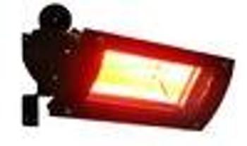 Well Traveled Living Black Powder Coat Infrared Patio Heater