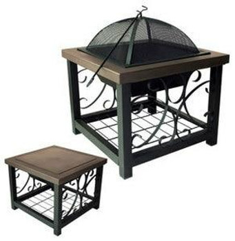 Well Traveled Living Old World Bronze Fire Pit