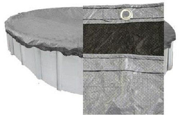 PoolTux PoolTux Above Ground Winter Cover Oval 15 Year Warranty