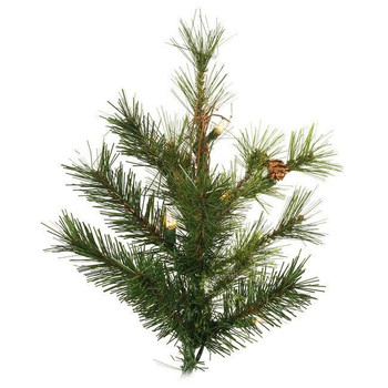 Vickerman Company Vickerman 7.5 ft Mixed Country Pine Pre-Lit Christmas Tree