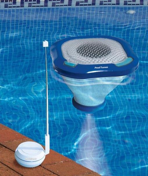 SwimLine PoolTunes Wireless Speaker and Light