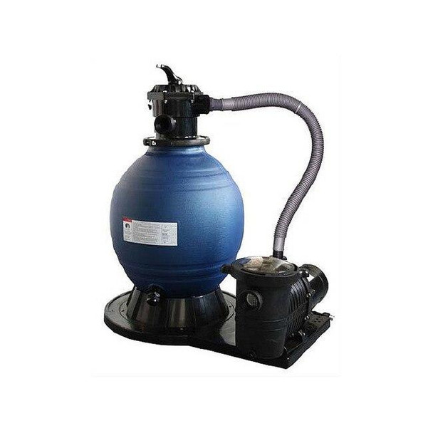 Blue Wave SandMan Deluxe Aboveground Sand Filter System 22Filter with 1.5 HP Pump