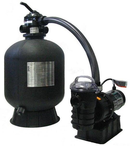 Sta-Rite Sta-Rite Premium Grade Sand Filter and Pump 19 Filter with 1hp Pump