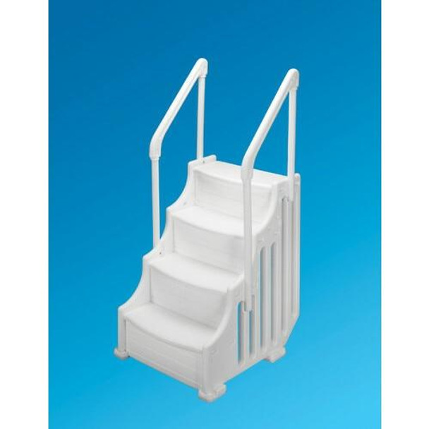 Ocean Blue The Mighty Step 30 Above Ground Pool Steps 400600