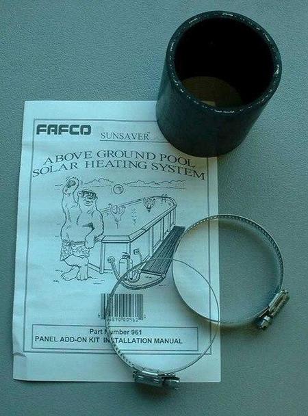 FAFCO Solar Bear add-on kit for Above Ground Solar Heater