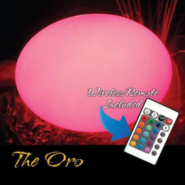 Main Access Illuminate Your Life The Oro Waterproof Floating LED Light