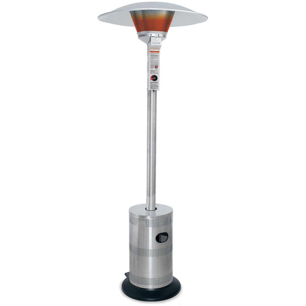 Uniflame Endless Summer Stainless Steel Commercial LP Gas Patio Heater