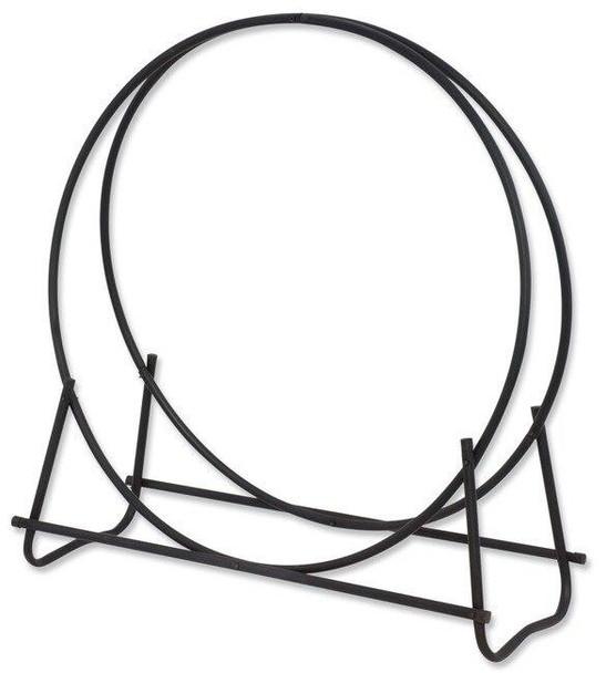 Uniflame Uniflame Black 40 Diameter Tubular Log Hoop