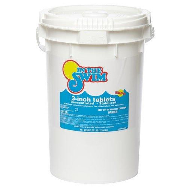 In The Swim In the Swim 3 inch Chlorine Tablets 50 Pound Bucket
