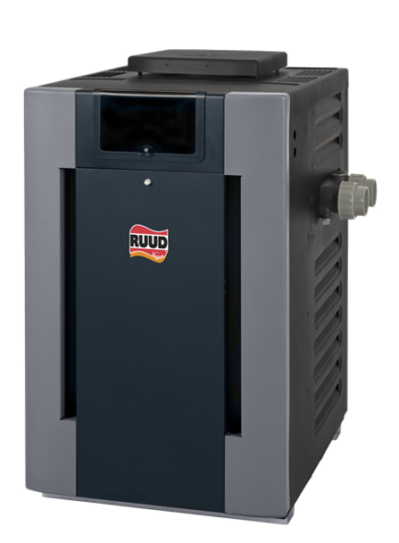 Raypak Raypak Ruud M336A 333k BTU Cupro Nickel Pool and Spa Propane Gas Heater