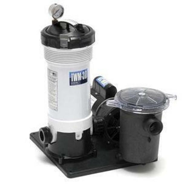 WaterWay WaterWay 520-4070 TWM-30 Above Ground Cartridge Filter System