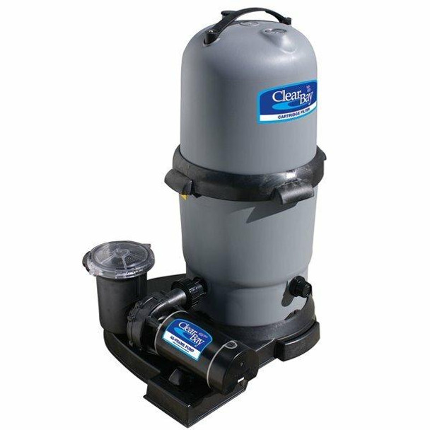 WaterWay WaterWay Clearwater II 200 sq ft Cartridge Filter System with 2 hp 2 speed pump