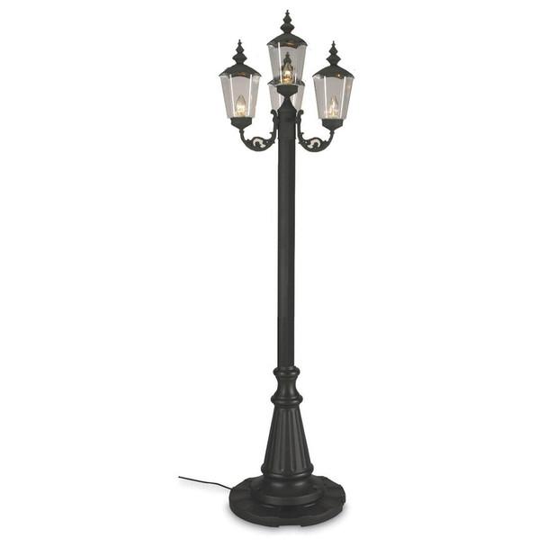 Patio Living Concepts Lantern Style Patio Lamp 4 lanterns