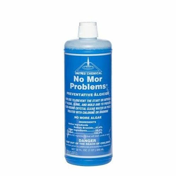 No Mor Problems Algaecide 1 Quart Bottle