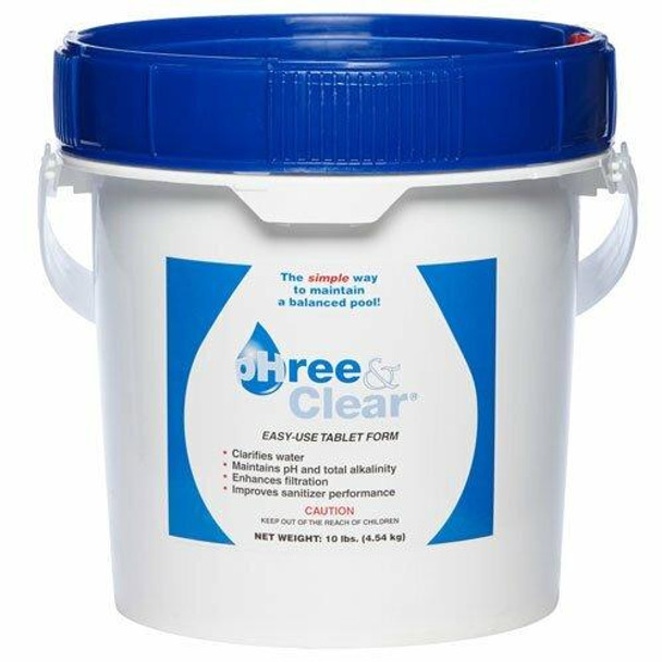 AllChem pHree and Clear Pool Chemical Balance Tablets 10 pound bucket