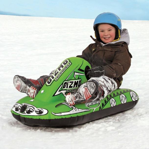SportsStuff SPORTSTUFF Gizmo SnowMobile Rider Inflatable Snow Toy