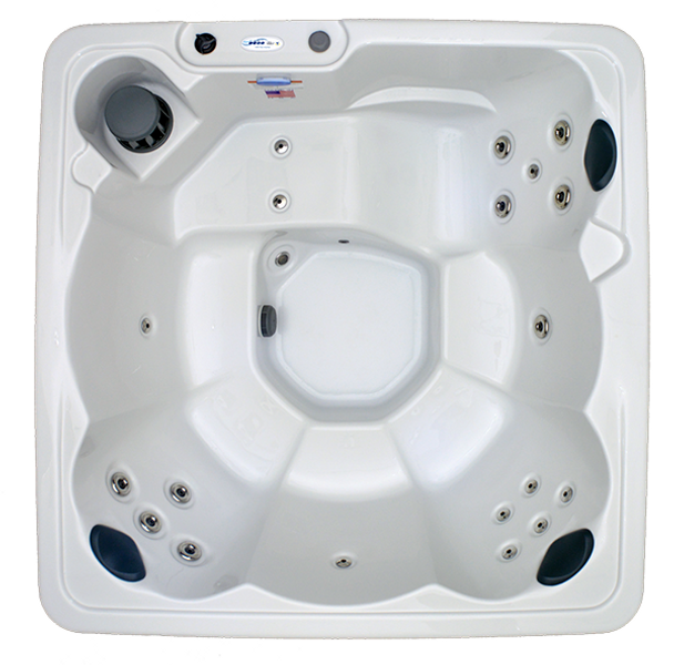 Hudson Bay Spas 6 Person White Pearl Acrylic Hudson Bay Spas Model HB19