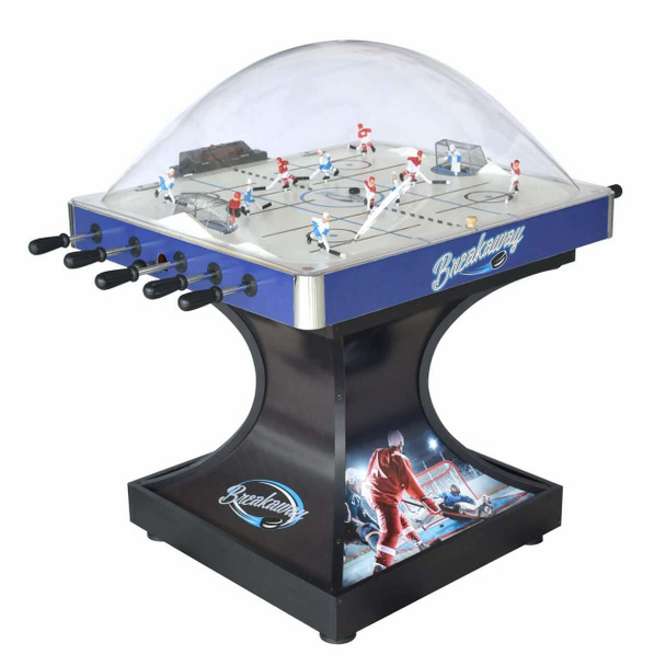 Blue Wave Breakaway Dome Hockey Table