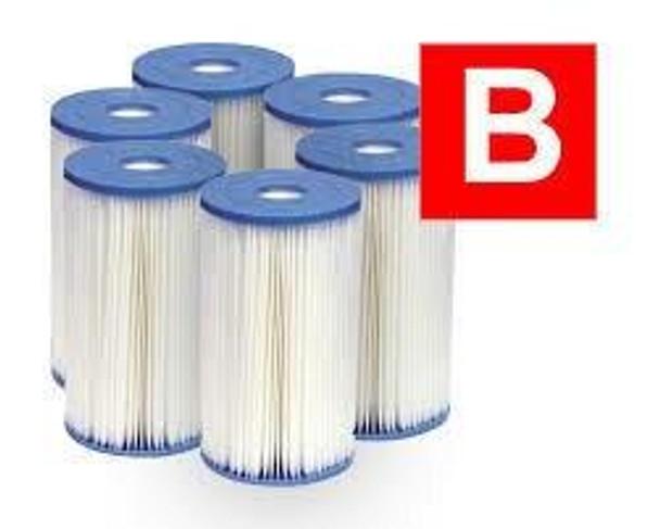 Intex Intex Filter Type B Cartridge 6 Pack
