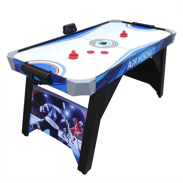 Blue Wave Warrior 5-ft Air Hockey Table