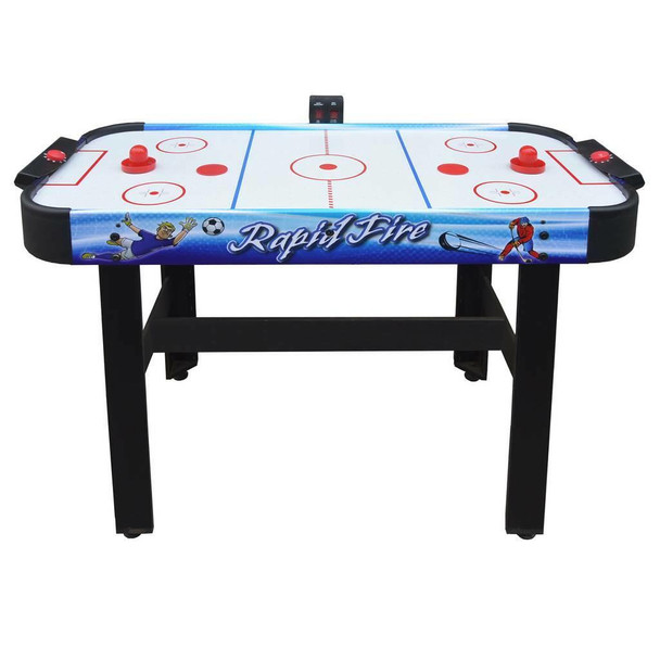 Blue Wave Rapid Fire 42-in 3-in-1 Air Hockey Multi-Game Table