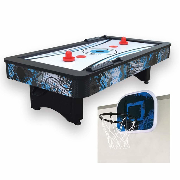 Blue Wave Crossfire 42-in Tabletop Air Hockey Table
