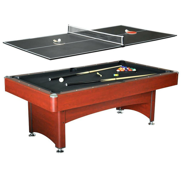 Blue Wave Bristol 7-ft Pool Table w/ Table Tennis Top