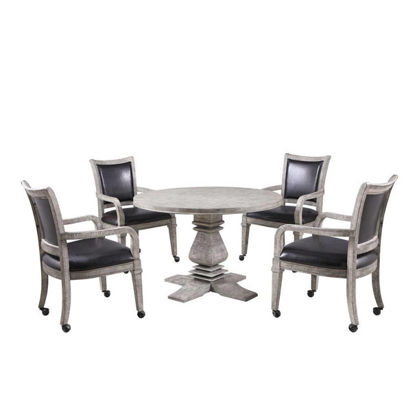 Blue Wave Montecito 2 in 1 Poker Game Table Set