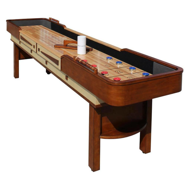 Blue Wave Merlot Shuffleboard Table