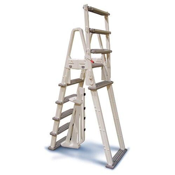 Confer Plastics A- Frame Above Ground Pool Adjustable Ladder Confer Plastics 7000