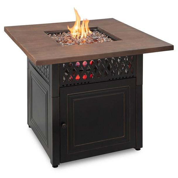 Endless Summer Endless Summer Donovan LP Gas Outdoor Fire Pit with DualHeat Technology