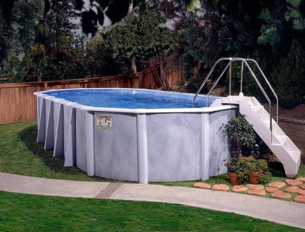 Lomart Lomart Silver Sierra II Above Ground Pool Package