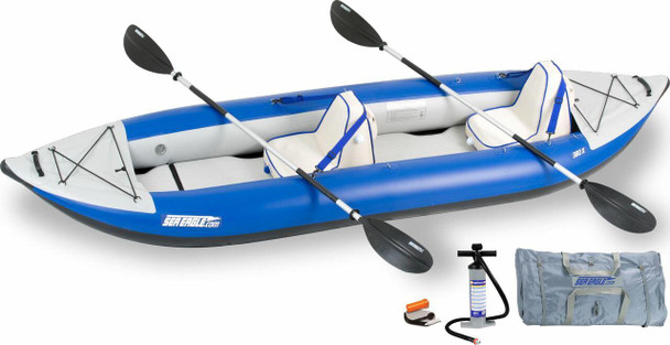 Sea Eagle Sea Eagle 380XK Deluxe Kayak Package