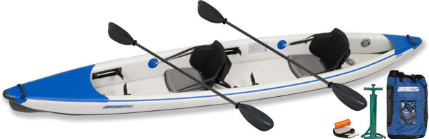 Sea Eagle Sea Eagle 473RL Pro Carbon Tandem Kayak Package