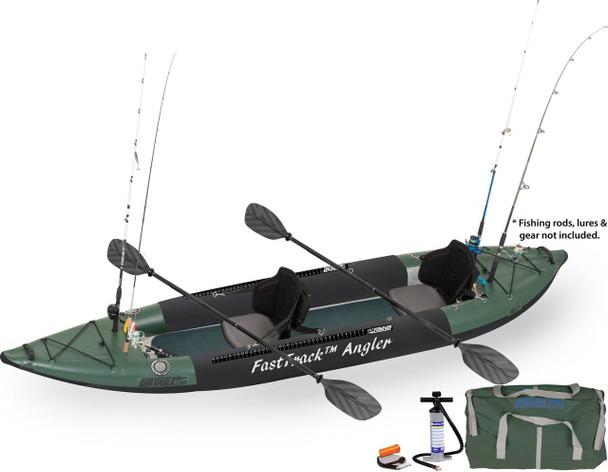 Sea Eagle Sea Eagle 385FTA Pro Angler Kayak Package