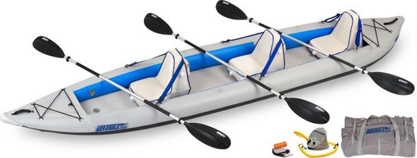 Sea Eagle Sea Eagle 465FT Deluxe 3 Person Kayak Package