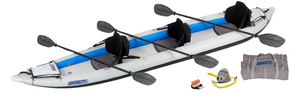 Sea Eagle Sea Eagle 465FT Pro 3 Person Kayak Package