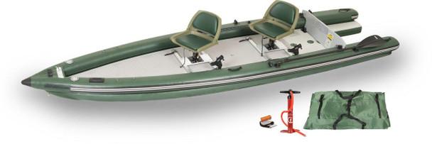 Sea Eagle Sea Eagle FSK16 2 Person Swivel Seat Boat Package