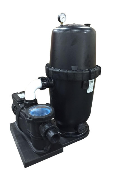 AquaPro Aqua Pro 150sqft Cartridge Filter System with 1.5hp Pump 2 Speed