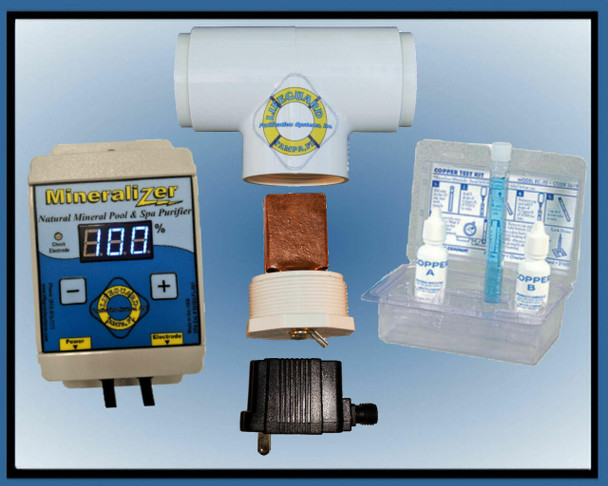 Lifeguard Purification Electronic Copper - Silver Ion Purifier Mineralizer M1625 With Universal Power Input