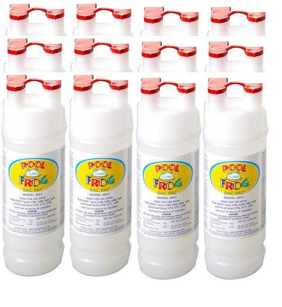 King Technology Case of Pre Filled Chlorine Bac Pac for POOL FROG Mineral Systems