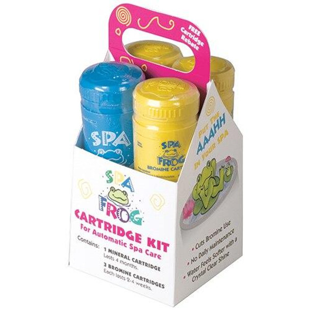 King Technology Spa Frog Floating and Inline Replacement Cartridge Kit