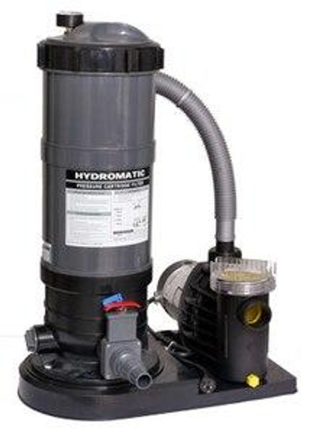 Hydro Hydro Cartridge Filter and Pump Combo for Above Ground Pool