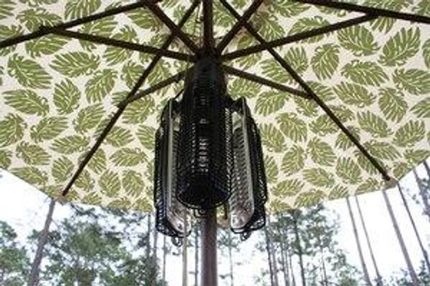 Well Traveled Living Umbrella Infrared Patio Heater